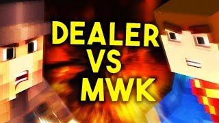 WALKA DEALEREQ VS MWK NA MINECRAFT FERAJNA 4 | 19:45 LIVE - Na żywo