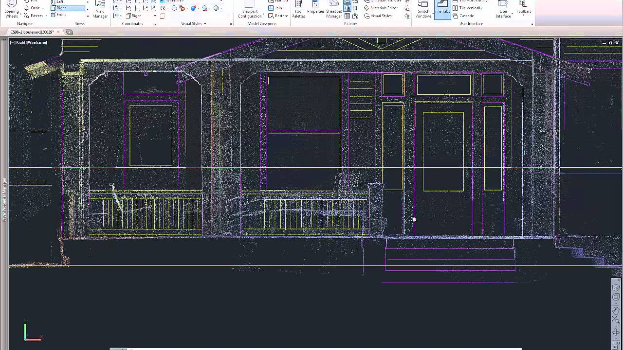Autocad Drawings From Point Clouds Youtube Wire Frame Diagrams