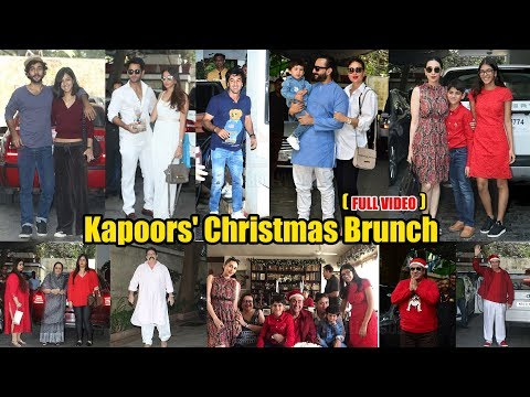 Taimur Ali Khan Pataudi Grand CHRISTMAS Party | FULL VIDEO | Ranbir Kapoor, Kareena, Karishma, Saif