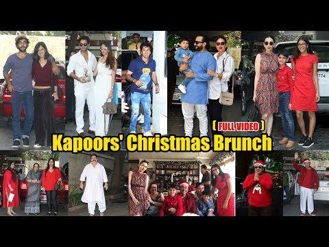 Taimur Ali Khan Pataudi Grand CHRISTMAS Party | FULL VIDEO | Ranbir Kapoor, Kareena, Karishma, Saif