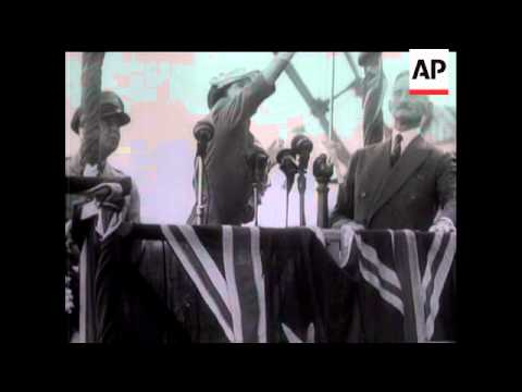 Famous Name For New Destroyer  - Launching of HMAS Bataan