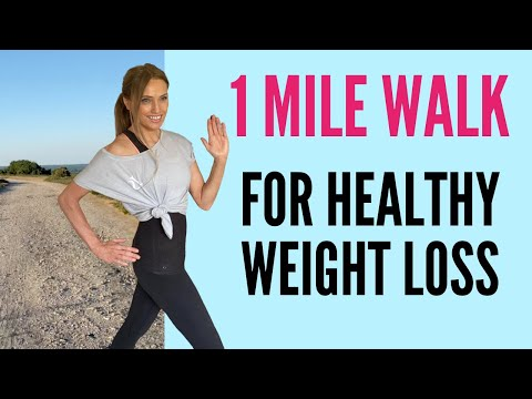 1 MILE WALKING AT HOME | WALKING EXERCISE FOR WEIGHT LOSS | LOW IMPACT WORKOUT | QUARANTINE WORKOUT