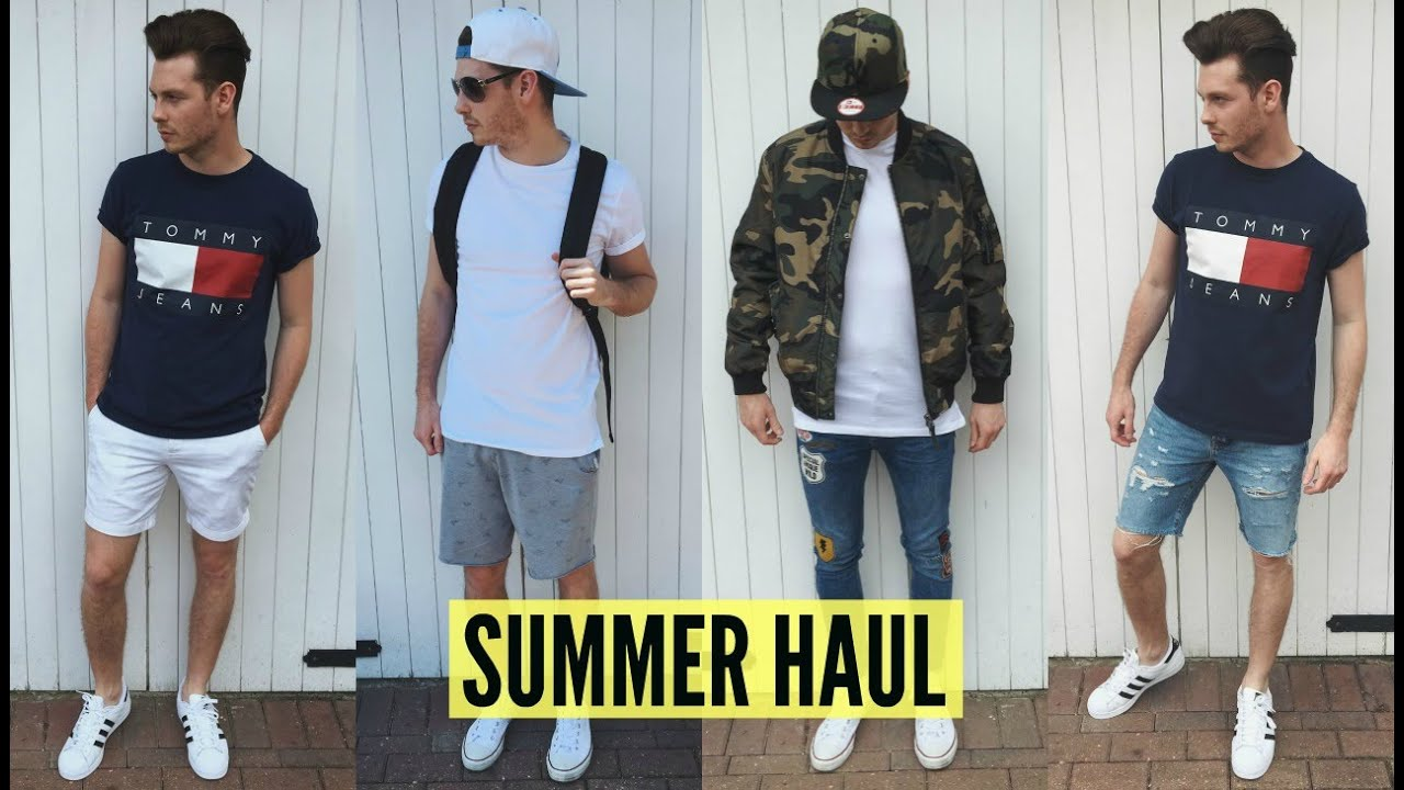 Mens Fashion Haul Summer 2018 Pick Ups Jake Daniels