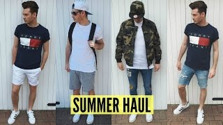 Mens Fashion Haul Summer 2016 Pick Ups - Jake Daniels