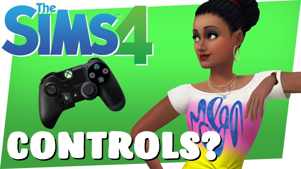 Sims 4 Console: Controls? YouTube