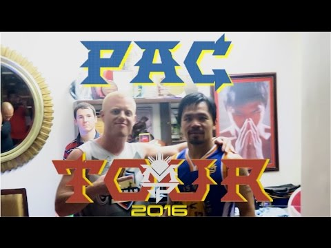 Meeting MANNY PACQUIAO in the PHILIPPINES ..VLOG!💥👊🇵🇭Basketball Game at his House in Gensan 2016