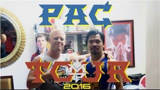 Meeting MANNY PACQUIAO in the PHILIPPINES ..VLOG!????Basketball Game at his House in Gensan 2016