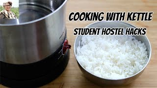 Hostel Hacks - Cooking With Kettle - Student Kettle Cooking - College Dorm | Skinny Recipes EP: 1