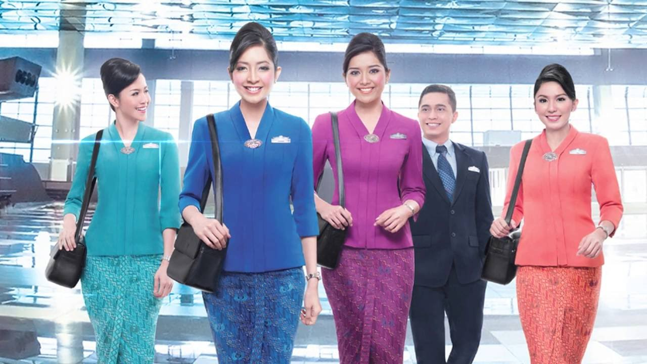 Garuda Indonesia wins world's best cabin crew. Image: Youtube