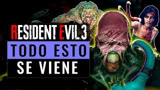 RESIDENT EVIL 3:  TODO ESTO NOS ESPERA !!  | Resident Evil 3 Remake | Jugamer