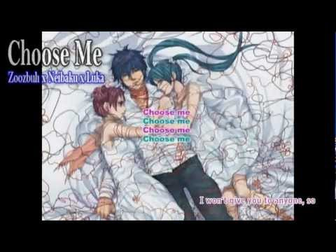 【Zoozbuh】Choose Me (English) [Ft. Neibaku + Luka]