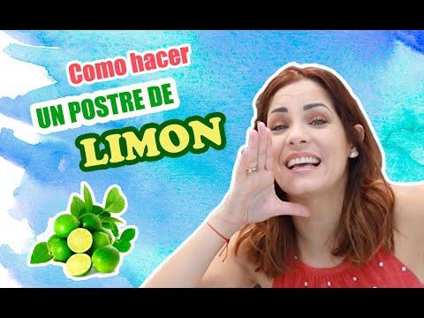 POSTRE DE LIMÓN | FÁCIL DE PREPARAR!!!