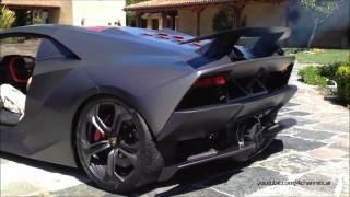 Lamborghini Sesto Elemento Sound