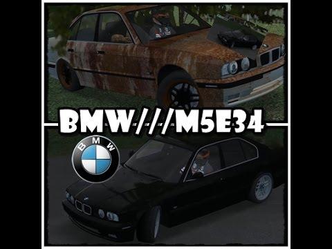 BMW M5 E34 / Project , Restauration / LFS 0.6P