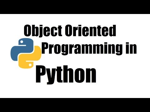 Python Tutorial #26; Object Oriented Programming Introduction thumbnail