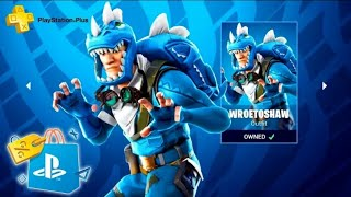 NEW SKIN PS MORE FREE ON FORTNITE BATTLE ROYALE