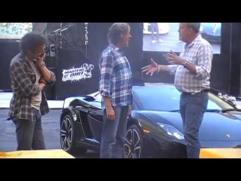 Top Gear Festival Durban 2014: The Grand Entrance