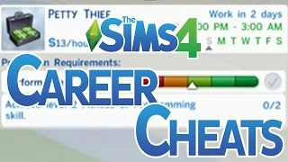 The Sims 4 Career Level Up Cheats