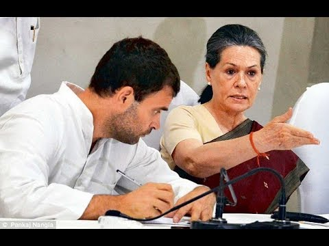 SONIA GANDHI NE RAHUL KO KAHA NIKAMMA ! FUNNY INTERVIEW OF RAHUL AND SONIA