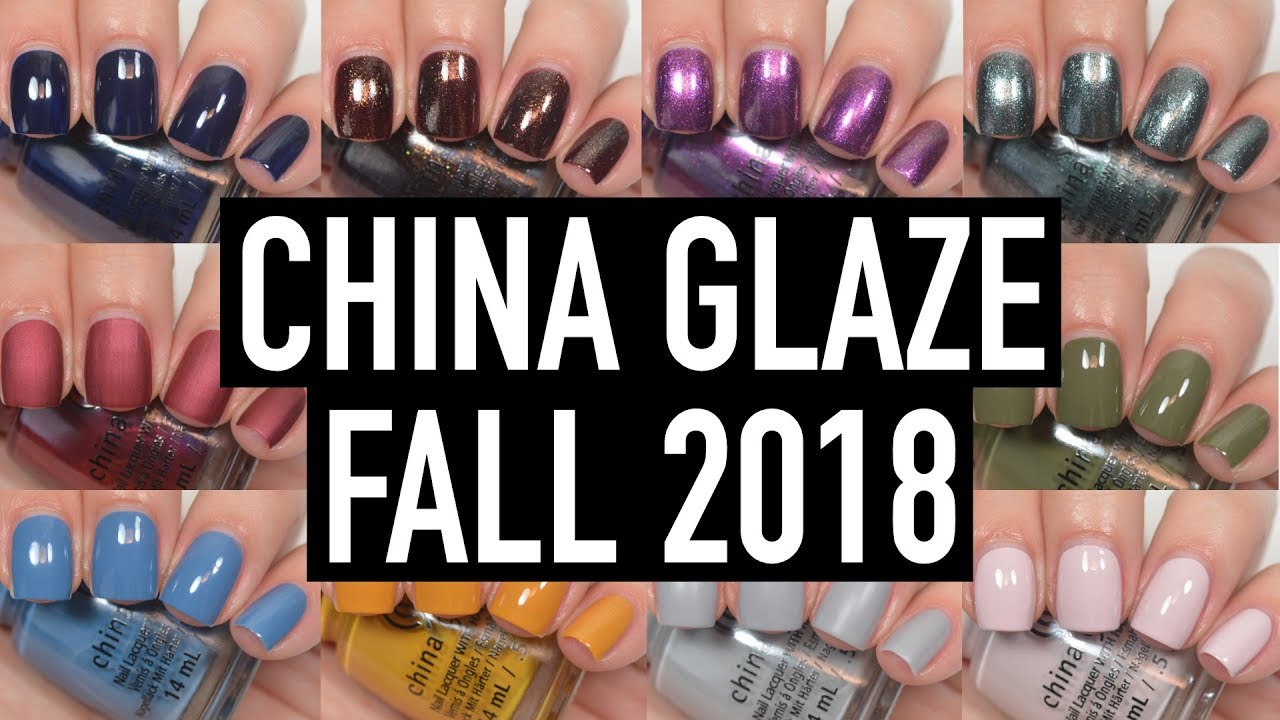 Opi fall 2018 swatches
