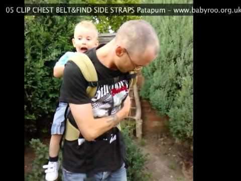 Patapum Baby Carrier Toddler Version