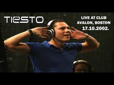 DJ Tiesto Live At Avalon Club, Boston, 17.10.2002.