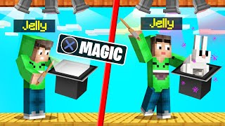 PERFORMING A MAGIC SHOW In MINECRAFT! (Best Trick Wins)