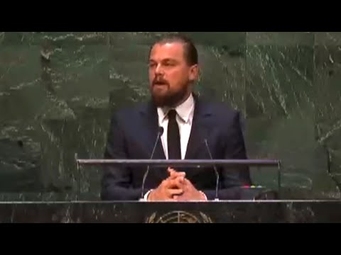 Leonardo DiCaprio's 2014 UN Climate Summit Speech - YouTube