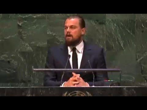 Leonardo DiCaprio's Powerful Climate Summit Speech