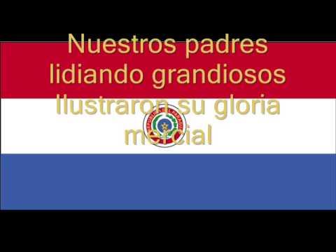 Hymne national du Paraguay