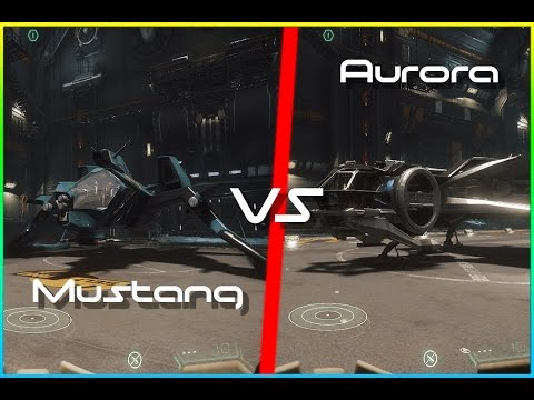 Star Citizen Aurora Vs Mustang Short Review What To Choose