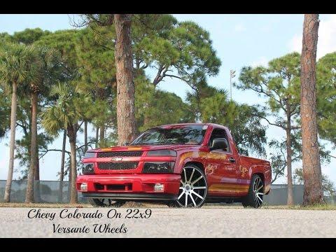 Chevy Colorado On 22x9 Versante Wheels Youtube