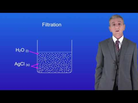 GCSE Chemistry (9-1) Filtration and Crystallisation
