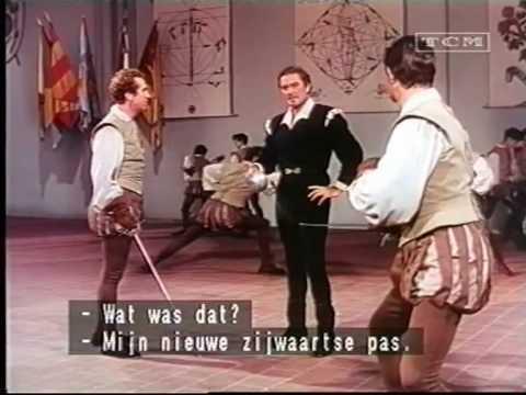 Errol Flynn   Don Juan als schermleraar