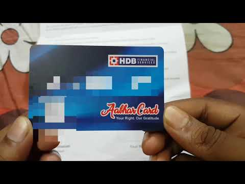 HDB Finance Card Unboxing