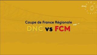 La finale de la coupe régionale de France entre FCM et Diables Noirs de Combani