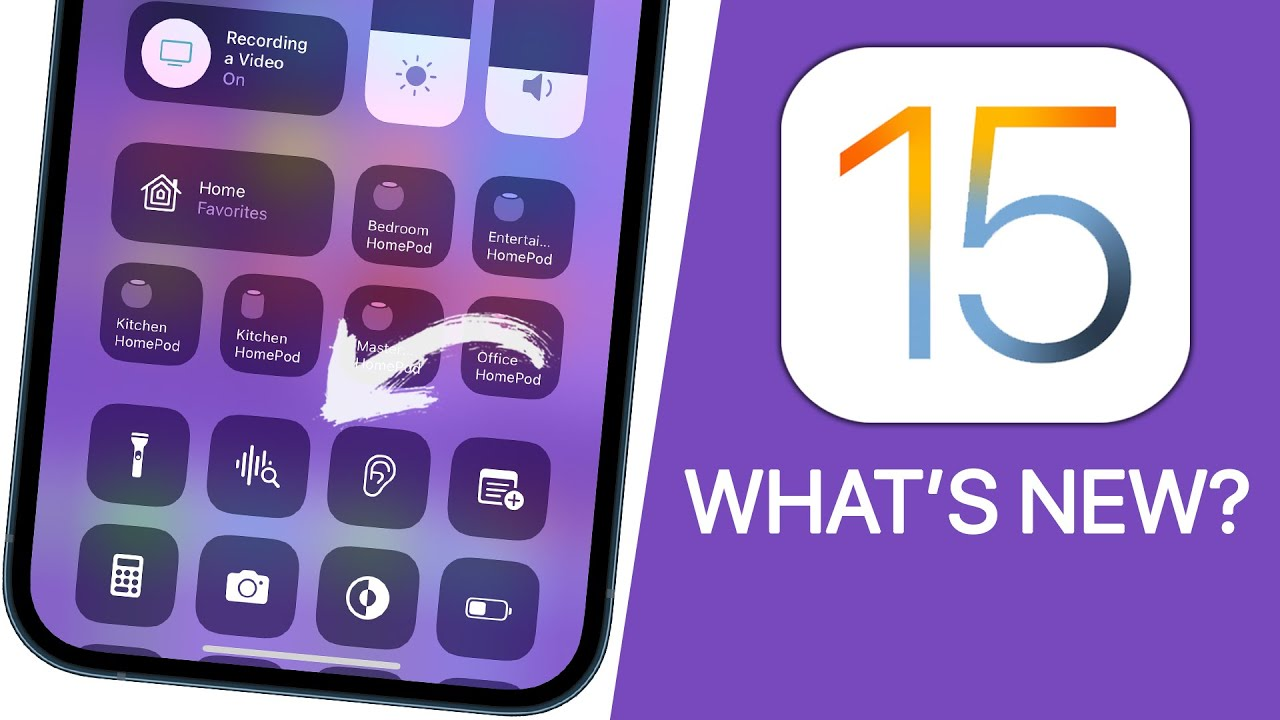 iOS 15 Released - What's New? (300+ New Features) - YouTube