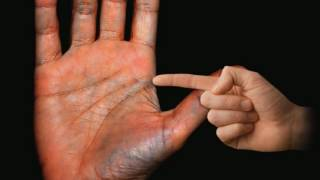 This is your INDEPENDENCE Marking Palm Reading Palmistry #94