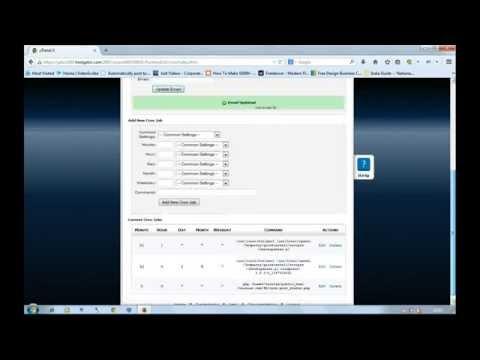 How To Setup Php Cron Job In Hostgator Cpanel Web Hosting