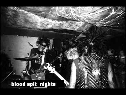 Blood Spit Nights - Only for the hardcore (hc punk Portland)