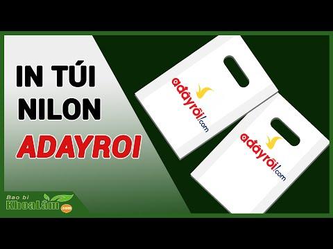 In Túi NiLon -ADAYROI