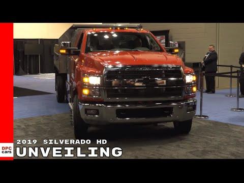 2019 Chevrolet Silverado 4500HD, 5500HD and 6500HD Unveiling