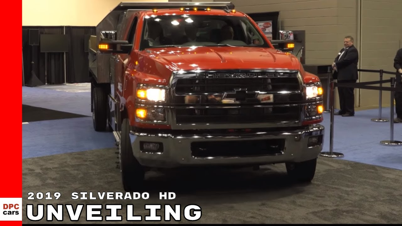 2019 Chevrolet Silverado 4500HD, 5500HD and 6500HD ...