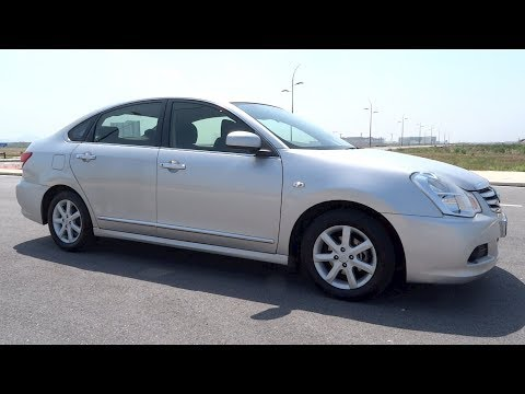 2014 Nissan Sylphy 2.0 XL Comfort Start-Up and Full Vehicle Tour