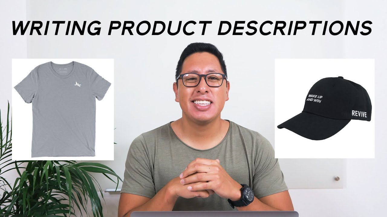 product description A product description is the copy used to describe product features, problems it solves and other benefits to help generate sales it's no wonder they are worried — the quality of a product description can make or break a sale , especially if it doesn't include the information a shopper needs to make a purchase decision.