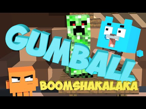 Unduh lagu A Minecraft Animation The Amazing World of Gumball Parody 3d Minecraft Animations online