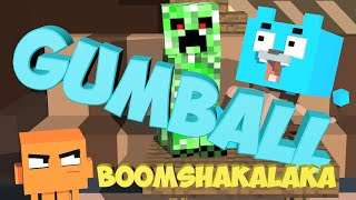 A Minecraft Animation The Amazing World of Gumball Parody 3d Minecraft Animations