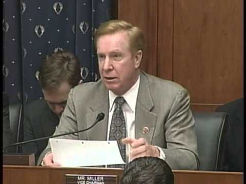 House Financial Services Vice Chairman Miller Questions Witness at FHA Hearing