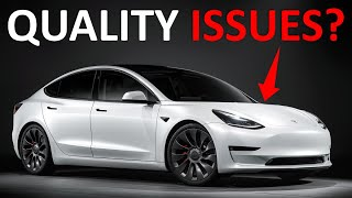 The TRUTH about TESLA MODEL 3 Build Quality