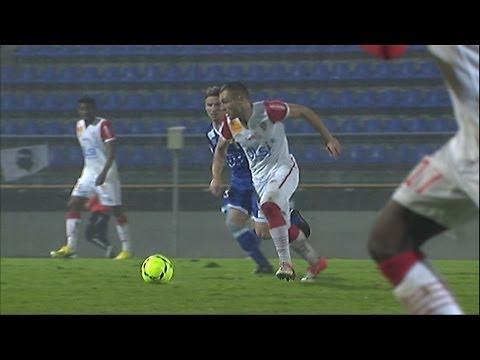 Goal Benjamin MOUKANDJO (51') - SC Bastia - AS Nancy-Lorraine (4-2) / 2012-13